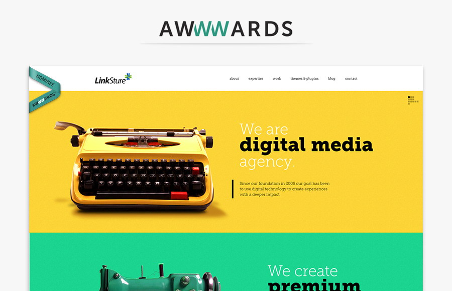 Awwwards Nominee! - ThemeZaa