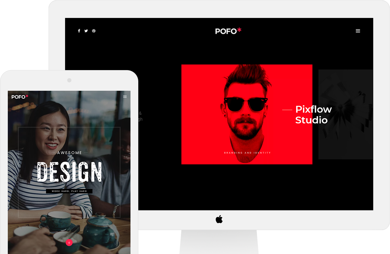 Pofo – Creative portfolio and blog wordpress theme
