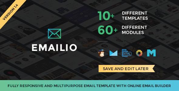 Emailio html template