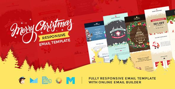 Christmas html template