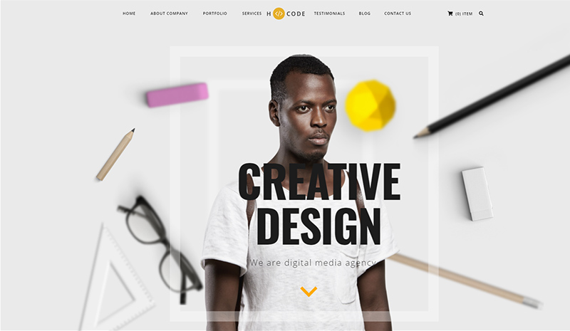 Showcase The Best Version Of Your Brand And Creativity Through 10+ Most Creative WordPress Themes Of 2021