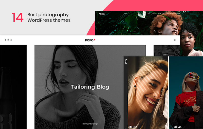 14 Best Photography WordPress Themes For Professional Photographers