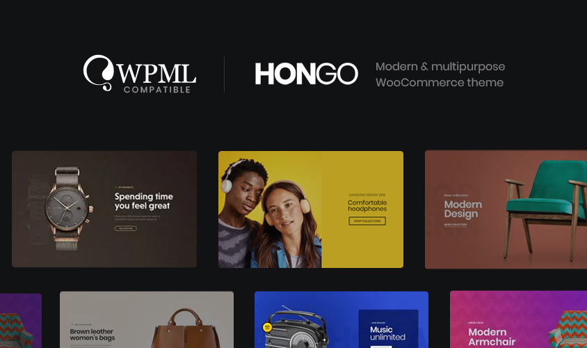 Hongo is now WPML compatible!