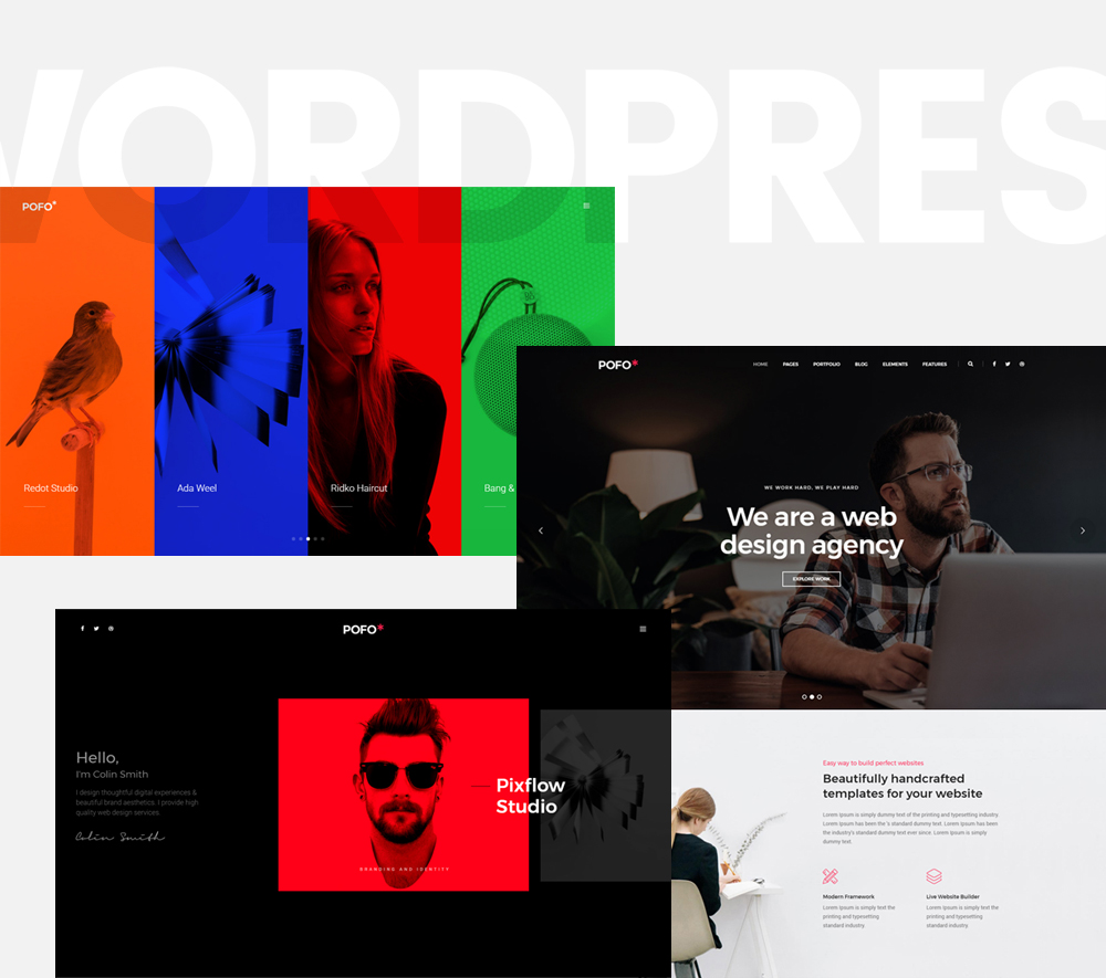The Most popular theme of the week: POFO WordPress theme – Our review