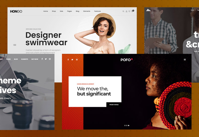 20+ Impressive collection of best clean and minimalist WordPress themes for business, blogs & portfolio
