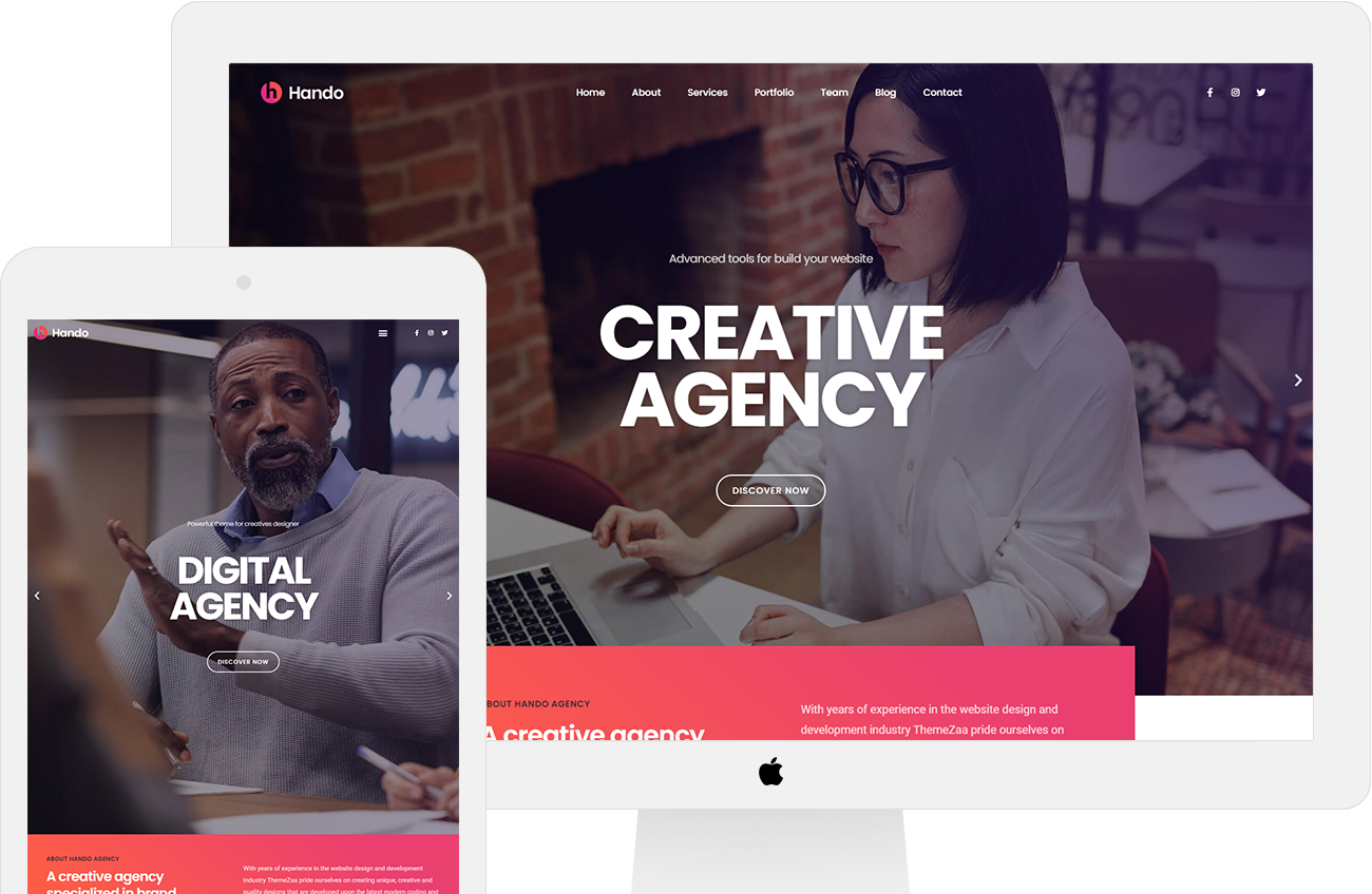 Protected: Hando – Corporate & Portfolio Elementor Template Kit