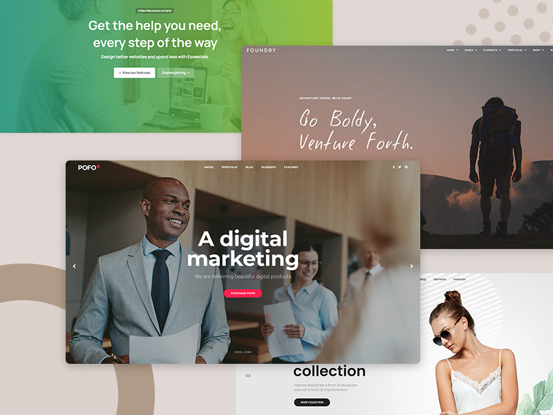 20 Best small business WordPress themes to try in 2021