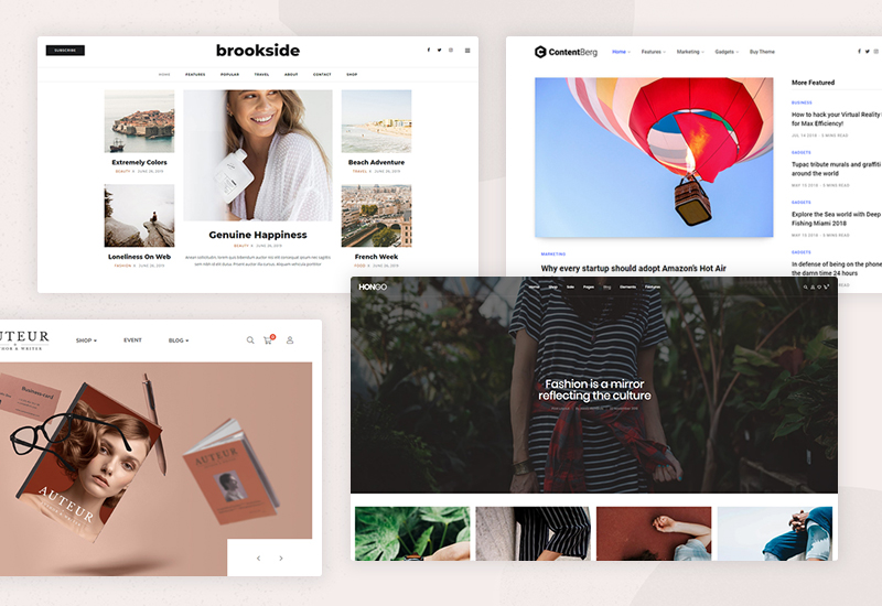 20+ Best WordPress Themes for Writers, Bloggers & Authors to try in 2021