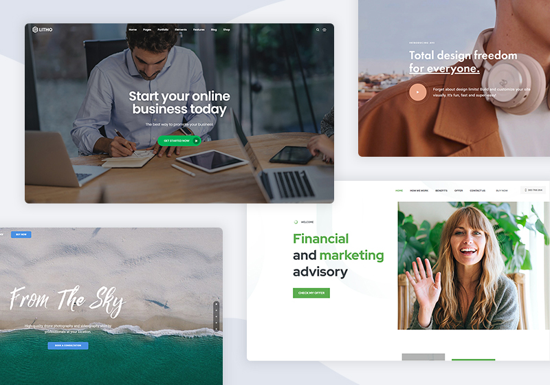20+ Most popular HTML5 and CSS3 Website Templates in 2021